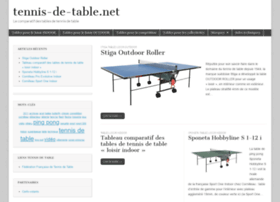 tennis-de-table.net