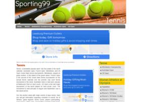 tennis.sporting99.com