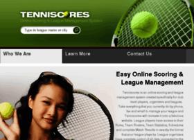 tenniscores.com