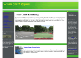 tenniscourtrepairs.com