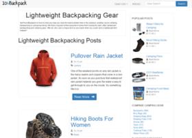 tenpoundbackpack.com