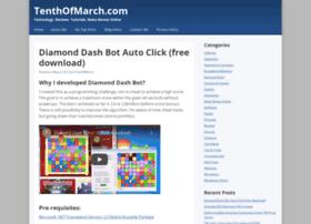tenthofmarch.com
