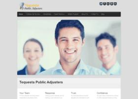 tequestapublicadjusters.com