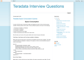 teradatainterviewquestion.blogspot.com
