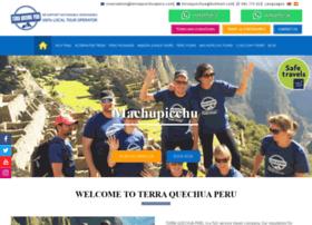 terraquechuaperu.com