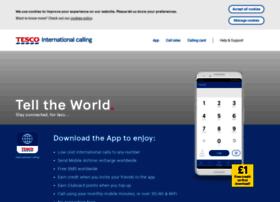 tescointernationalcalling.com