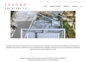 tesoroarchitects.com