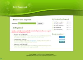 test-pagerank.com