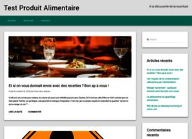 test-produit-alimentaire.com