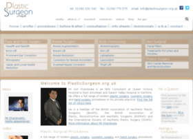 test.plasticsurgeon.org.uk