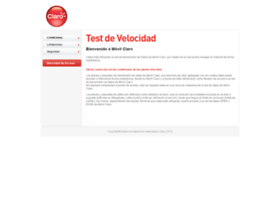 testdevelocidadclaro.com.co