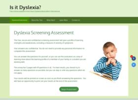 testdyslexia.com