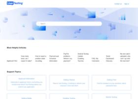 testersupport.usertesting.com
