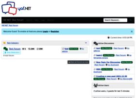 testforum.yetanotherforum.net