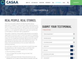 testimonials.casaa.org