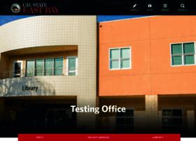 testing.csueastbay.edu