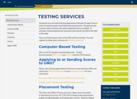 testing.uno.edu