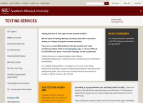 testingservices.siu.edu