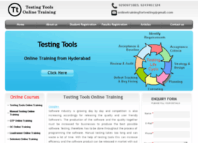 testingtoolsonlinetraining.in
