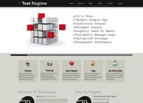 testregime.com