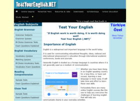 testyourenglish.net