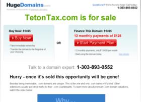 tetontax.com
