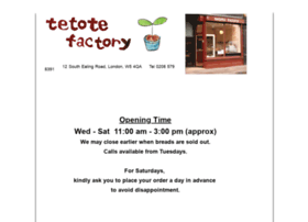 tetotefactory.co.uk