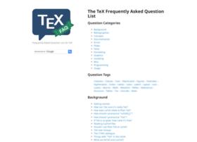 tex.ac.uk