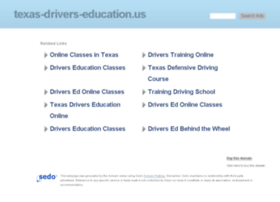 texas-drivers-education.us