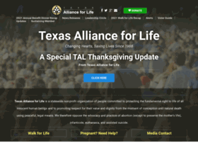 texasallianceforlife.com