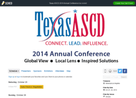 texasascd2014annualconference.sched.org