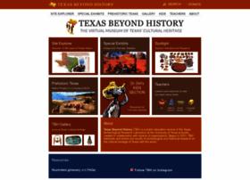 texasbeyondhistory.net