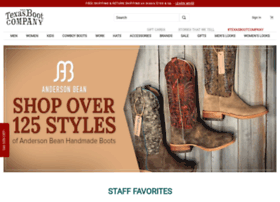 texasbootcompany.com