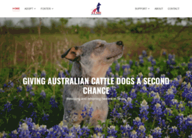 texascattledogrescue.com