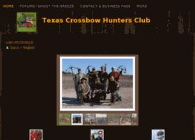 texascrossbowhuntersclub.com