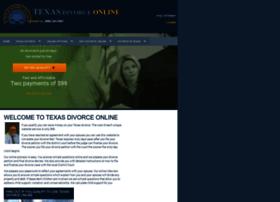 texasdivorceonline.com
