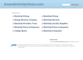 texaselectricitychoice.com