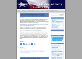 Texaslegislativeupdate.wordpress.com