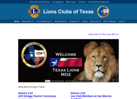 texaslions.org