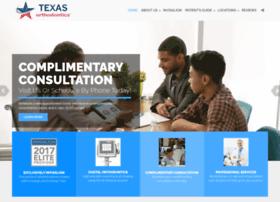 texasorthodontics.com