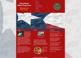 texaspeaceofficerflagfund.org