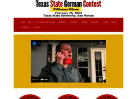 texasstategermancontest.org