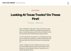 texastrucksunlimited.com