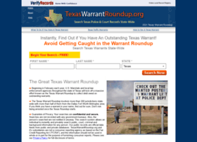 texaswarrantroundup.org