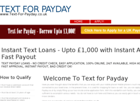 text-for-payday.co.uk