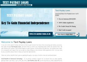 text-payday-loans.co.uk