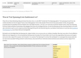 text-spinning.de