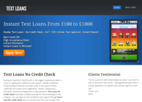 textaloannocreditcheck.co.uk