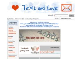 textandlove.com