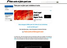texte-carte-et-faire-part.com